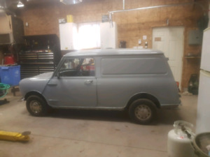 1981  Austin mini panel van
