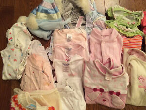 Girls clothing 3-6 mos.  Sold as a lot. London Ontario image 2