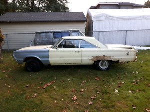 1967 Plymouth  G.T.X. project