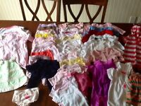 50 plus baby girl clothes, gap, juicy, Calvin Klein, joe, carter