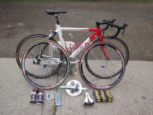Complete dura-ace road bike package
