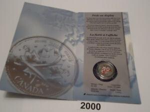 Monnaie Royale - 25 CENTS - CANADA 2000 - FIERTÉ