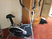 2 in 1 elliptical and exercise bike