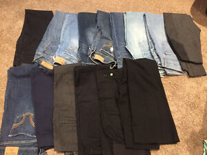 Assorted womens brand name clothing