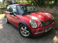 MINI Cooper, long MOT, leather seats + sun roof.