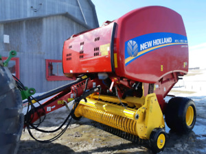 Presse New Holland RB450 2017 Rotocut
