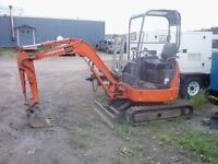 Hitachi EX17 mini excavator