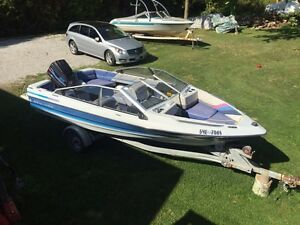 18' Bowrider, turn key ready for water