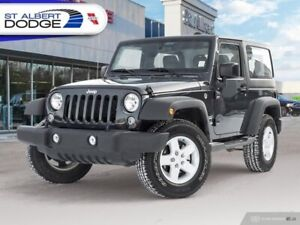 2017 Jeep Wrangler Sport  ACCIDENT FREE| REMOVABLE TOP| LOW KM