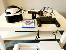 PLAYSTATION VR 2ND EDITION (IMMACULATE CONDITION)