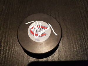 Rondelle signée Bob Gainey signed puck Montreal Habs