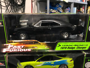 Dodge Charger 1970 fast furious diecast 1/18 die cast