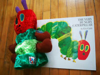 The Very Hungry Caterpillar BOOK & PUPPET
