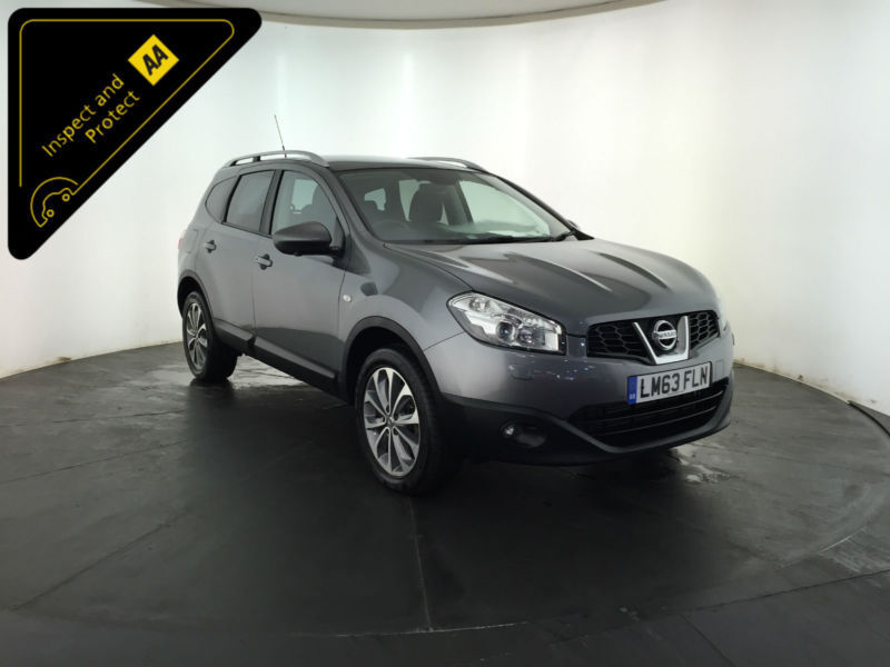 2013 63 NISSAN QASHQAI TEKNA IS +2 DCI 4WD 1 OWNER SERVICE HISTORY FINANCE PX