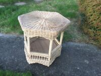 Wicker Conservatory Table
