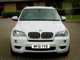 2010 10 BMW X5 3.0 35d M Sport xDrive 5dr WITH FSH+INDIVIDUAL LEATHER++