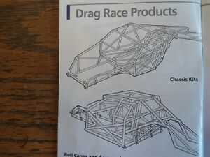 Eliminator II drag race chassis