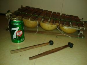 Xylophone artisanal Pentatonique