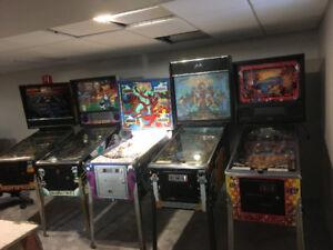 Pinball Machines!!!
