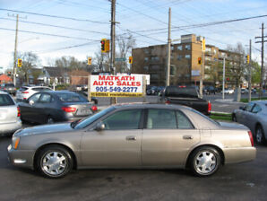 **2004 Cadillac Deville** Leather, loaded, Cert & E-tested
