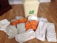 G-diapers and Mother-ease diaper pail
