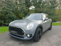 2017 '17' MINI CLUBMAN 1.5 COOPER WITH CHILLI & MEDIA PACKS. ONLY 29,100 MILES.