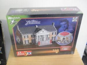 3D Puzzle Of Graceland