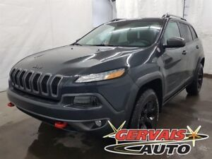 Jeep Cherokee Trailhawk V6 4x4 Cuir/Tissus MAGS 2016