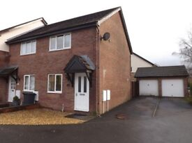 2 Bed House to Rent in Bryncoch, Neath. Drive, detached garage and direct access to rear garden