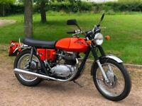 BSA Lightning 1972 750cc Devi Mead Conversion