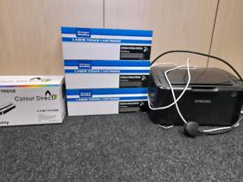 Samsung ML-1865 printer amd scanner + ink