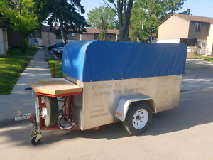 Hot dog and ice cream cart for sale, GREAT money make!!!!