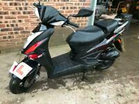 Kymco Agility 50 RS 2 stroke, 2017, clean, 1 owner, delivery, finance