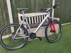 Downhill hardtail mountain bike..Claude Butler XL