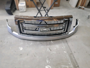 2013 2014 F150 Grill and upper bumper cover.Enderby