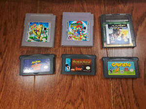 Gameboy / gameboy advanced games