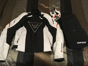 Full Mens Dainese Motorcycle Gear Outfit