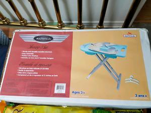 Masterkidz ironing set age 3+ new in box