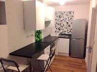 Fully Furnished Studio Flat including all bills, TV, BT Fibre Optic Broadband.