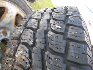 Rare 7 bolt ford truck rims and tires Prince George British Columbia image 1