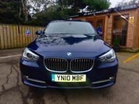 **NEW YEAR SALE**2010 BMW 530 GT 3.0TD AUTO SE IN BLUE TOP SPEC/REAR DVDS,