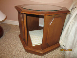 SOLID CHERRY END TABLES