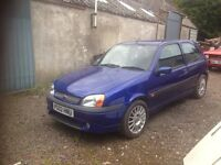 Ford Fiesta Zetec s 02 plate spares or repairs.