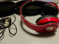 Beats Studio Over-Ear Headphones Red