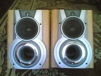 aiwa loudspeakers with built in subs
