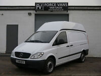 MERCEDES VITO 109CDI 2.2TD LWB HIGH ROOF DUALINER PANEL WORK TOOL LOGISTICS VAN
