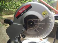 Performance 1400 Mitre saw hardly used
