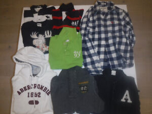 Lot 40 Kids Clothing Abercrombie, Roots, Under Armour & Nike