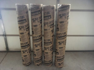 """Bomix Builders Tube ( 7.5"""" x 4ft. ) for Posts."""