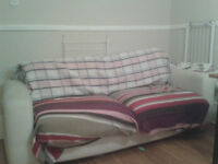 Furniture: couch (FREE), table, beds, dressers PICK-UP TODAY